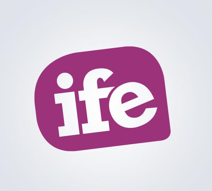 Logo IFE, Internacional Food and Drink Events