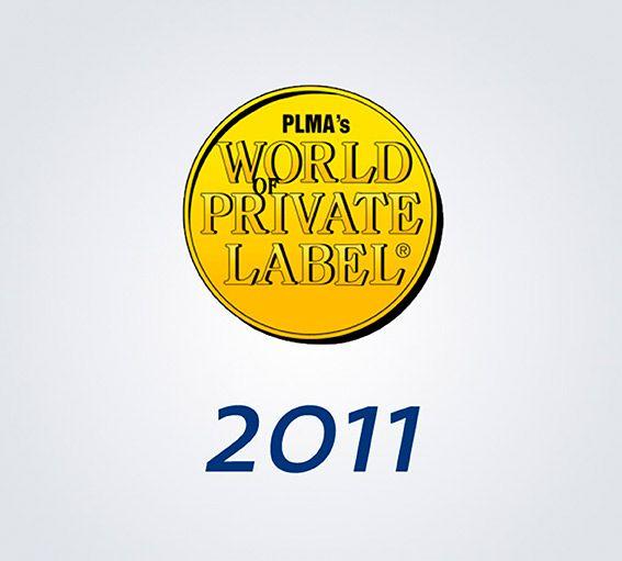 Logo PLMA, Word Private Label de Amsterdam 2011