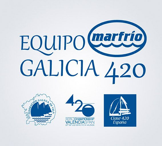 Marfrio con el deporte gallego.