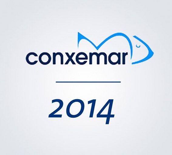 Logo Conxemar, feria internacional de productos del mar congelados, 2014