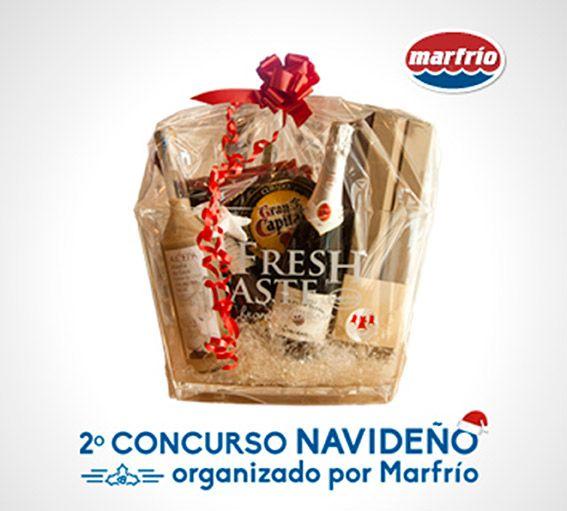 2º concurso navideño organizado por Marfrio, participa y gana una cesta!
