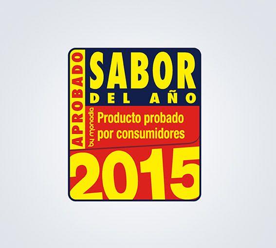Sabor del año 2015, productos premiados Marfrio