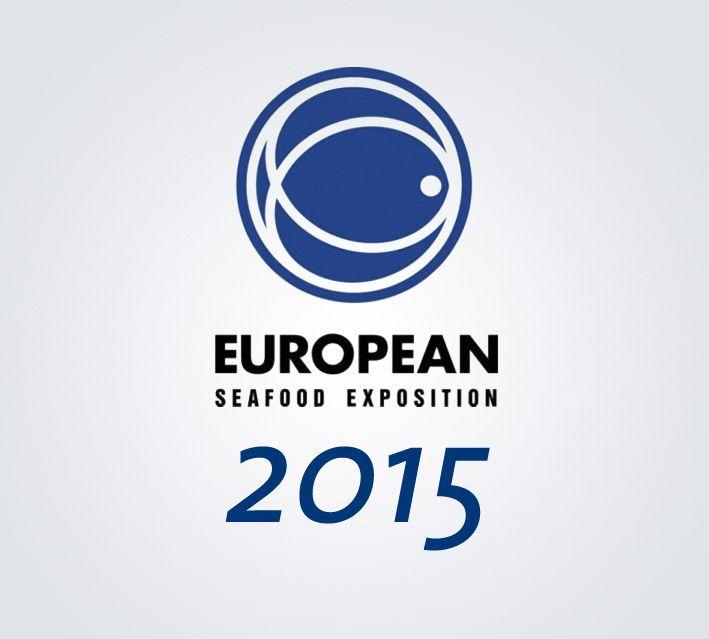 Logo european seafood exhibition, año 2015
