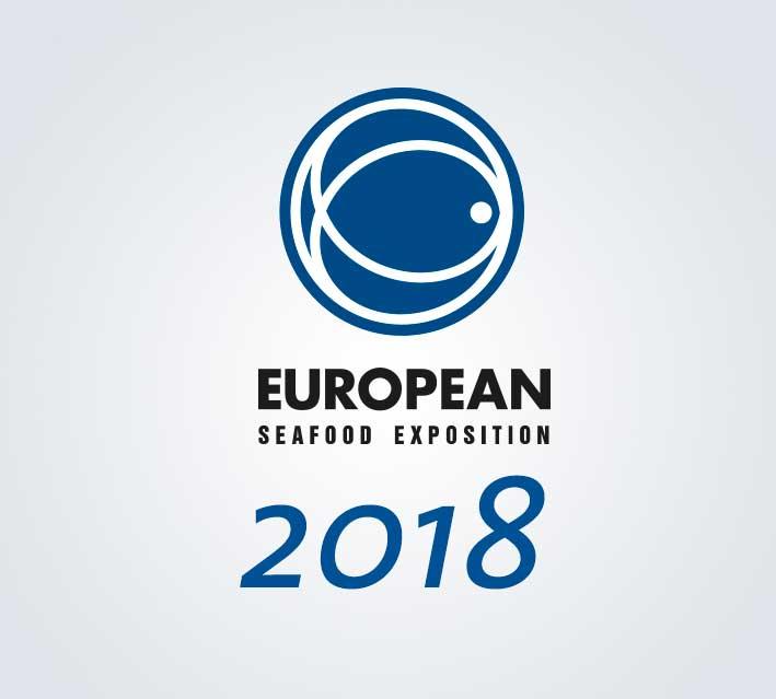 Logo de la European seafood Exposition de Bruselas