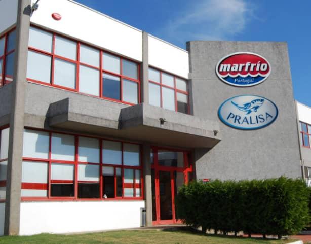 Instalaciones de PRALISA, marfrio portugal