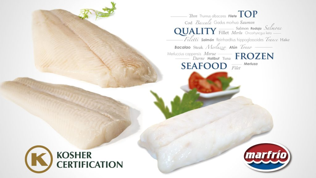 Productos Marfrío con certificación Kosher