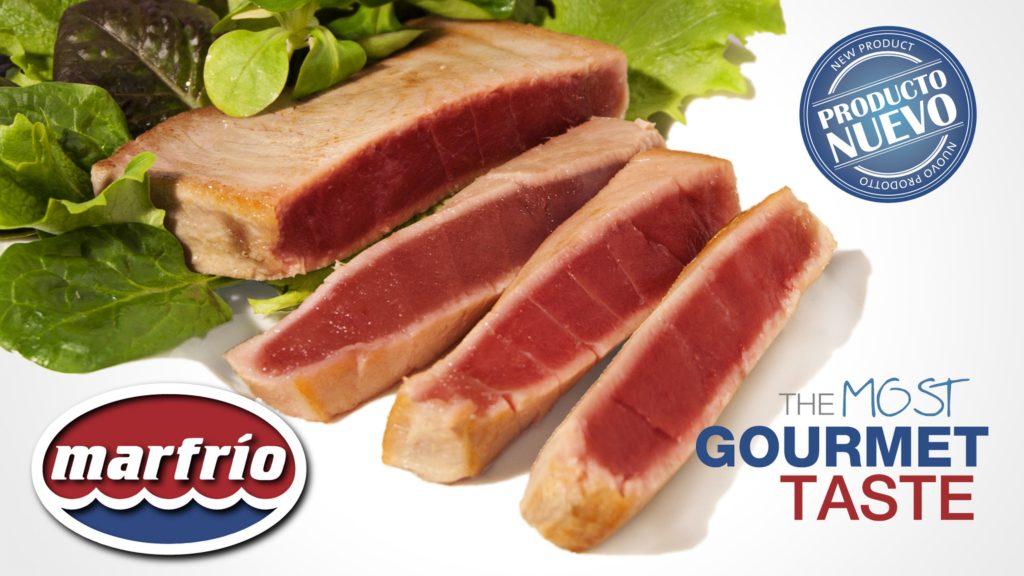 Lomos de atún Marfrio, el sabor más gourmet