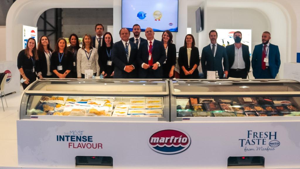 Marfrio team in conxemar 2021